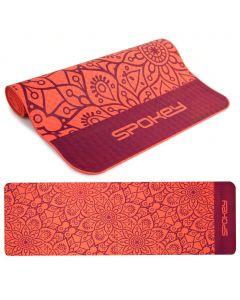 Килимок для йоги Spokey Mandala, оранжевий, А000010531