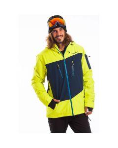 Куртка гірськолижна Fundango Privet жовта