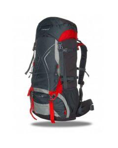 Рюкзак Campus Falcon 65+10 сіро-червоний