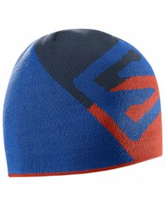 Шапка SALOMON FLAT SPIN SHORT BEANIE оранжево синя А000009805
