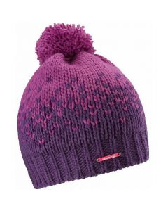 Шапка Salomon PEARL BEANIE фіолетово рожева