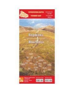 Туристична карта Боржава