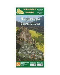 Туристична карта Чорногора