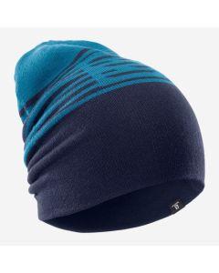 Шапка SALOMON FLAT SPIN REVERSIBLE BEANIE синя темно синя А000009803