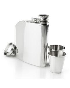 Фляга GSI Outdoors Glacier Stainless Trad Flask Set сірий, А000007481