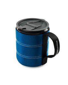 Горнятко з неопреновим захистом GSI Outdoors Infinity Bacpacker Mug, синій, А000009188