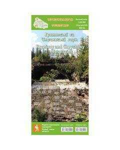 Туристична карта Гринявські та Чивчинські гори