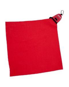 Рушник туристичний Rockland Pocket 40x40 cм червоний