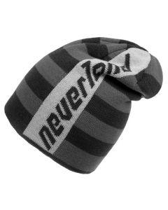 Шапка Neverland LYNX чорно сіра