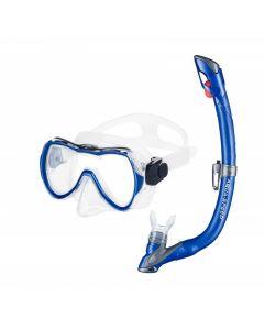 Комплект маска та трубка дитячий Aquaspeed Enzo + Evo
