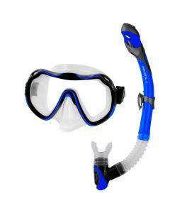 Комплект маска та трубка  Aquaspeed Java + Elba