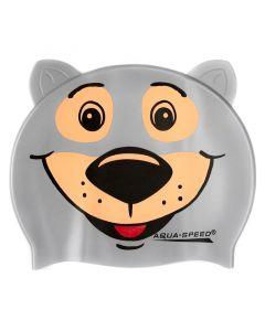 Шапочка для плавання дитяча Aquaspeed Zoo Bear