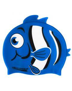 Шапочка для плавання дитяча Aquaspeed Zoo Nemo